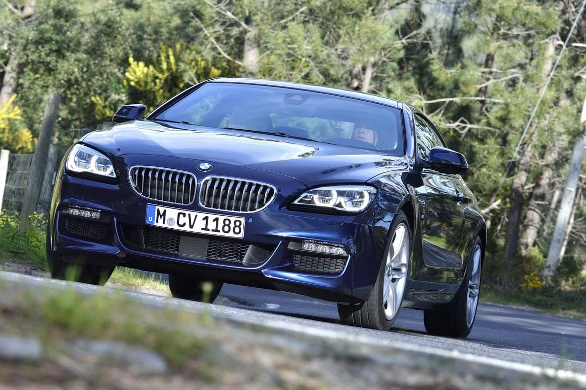 BMW 650i coupe facelift