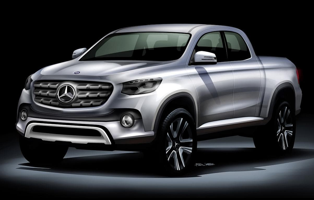 Neuvorstellung: Mercedes Pick Up 2017